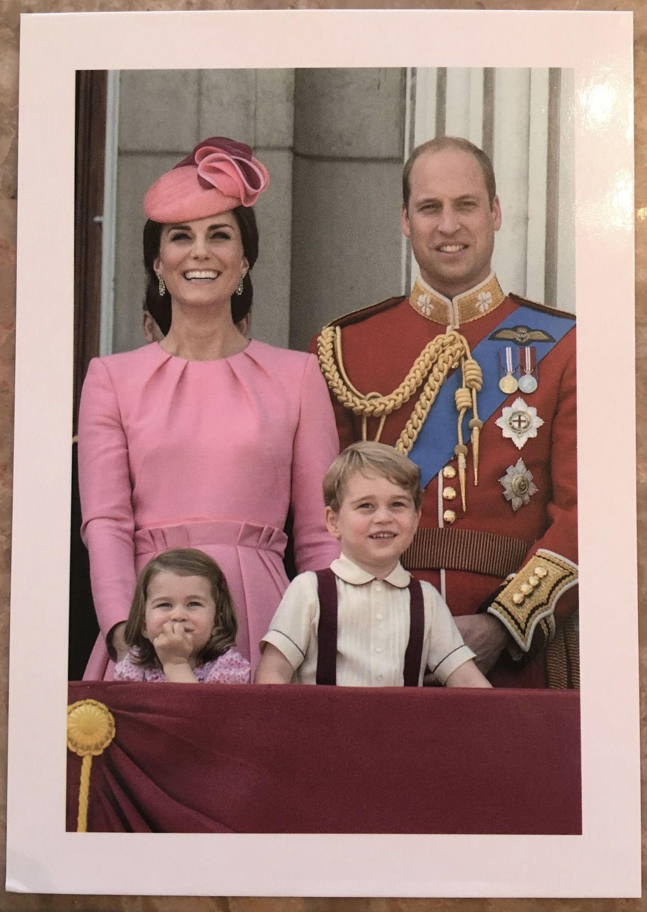 Christmas Card 2017 Kate Middleton Princess Kate Royal