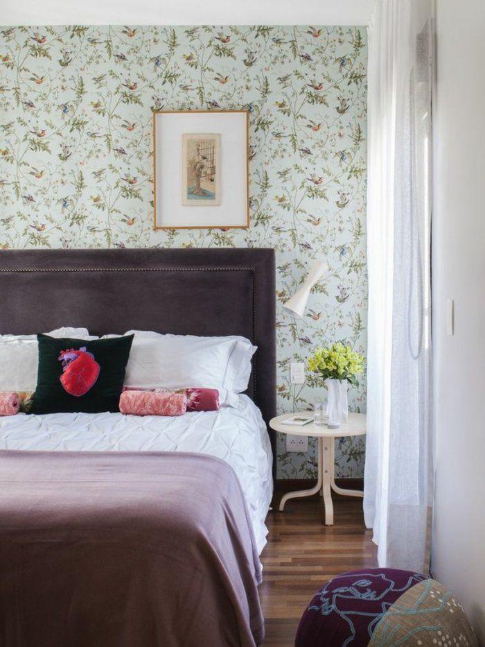 23 kreative Wandgestaltung Ideen für das Gästezimmer Pinterest - küche tapezieren ideen