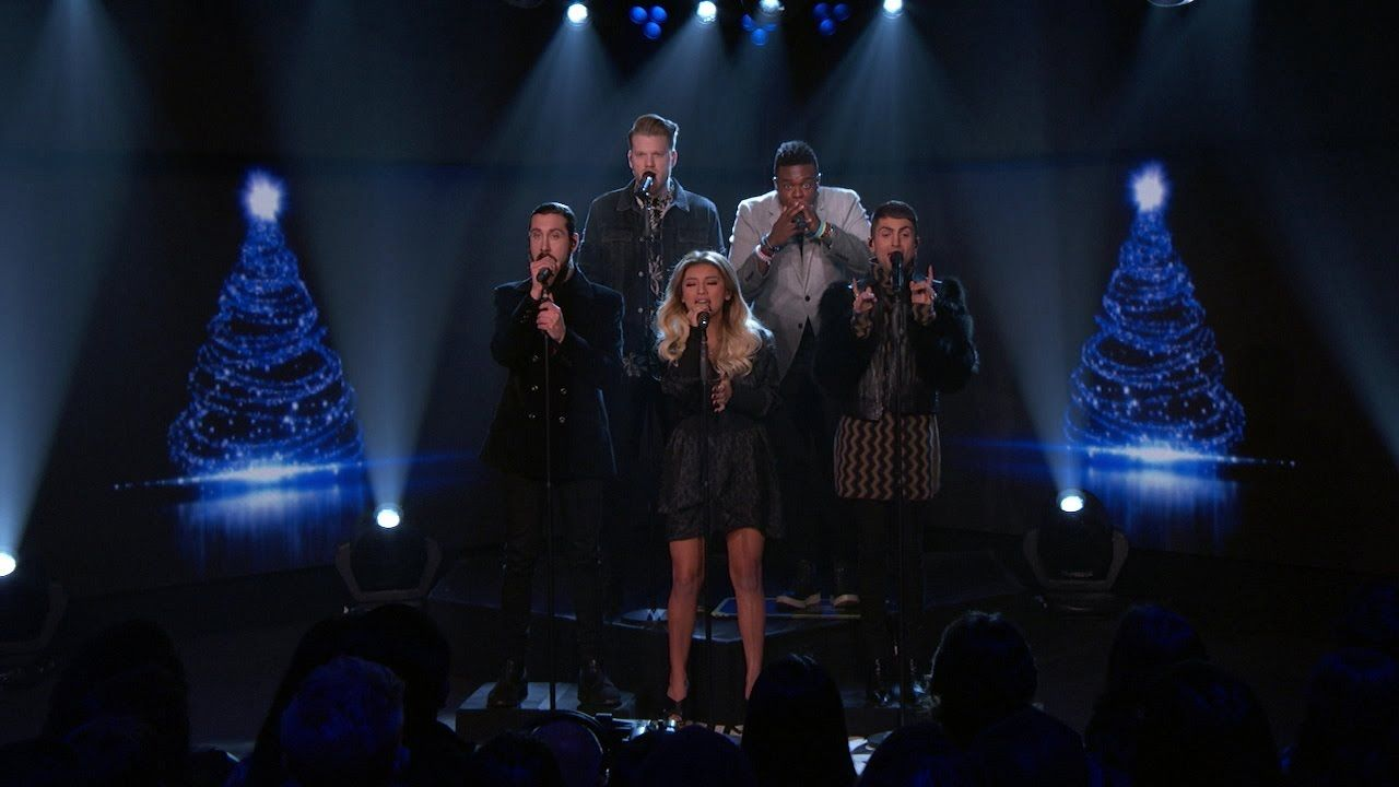 Jimmy Kimmel Live God Rest Ye Merry Gentlemen Pentatonix Christmas Music Videos Pentatonix Classic Christmas Songs
