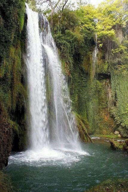 Monasterio De Piedra Alhama De Aragón España Waterfall Water Around The Worlds