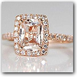 Diamond and peach champagne sapphire engagement ring beautiful diamond and peach champagne sapphire engagement ring beautiful junglespirit Images