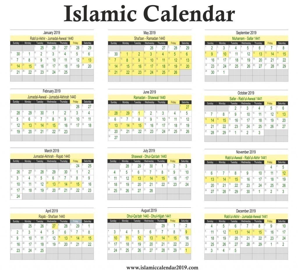 Extraordinary 2020 Calendar With Islamic Dates Islamic Calendar Calendar March Hijri Calendar