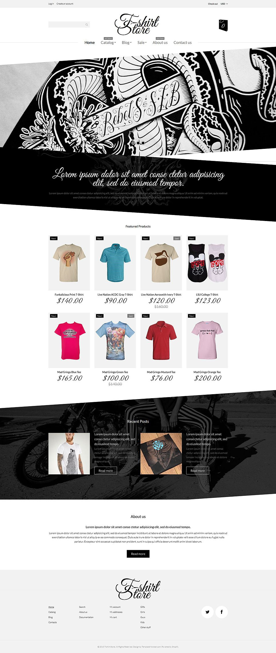 T Shirt Designs Shopify Theme 53570 Shopify Theme Shopify Design Shirt Designs