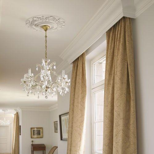 Cornici In Gesso Per Pareti Casa Romantic Elegant Home