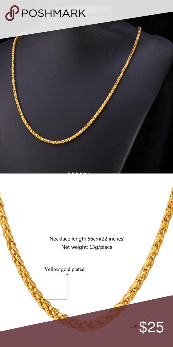 18kgp Necklace Worth June 2020