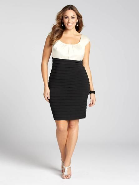 Laura Plus: for women size 14 . This elegant two-tone ...