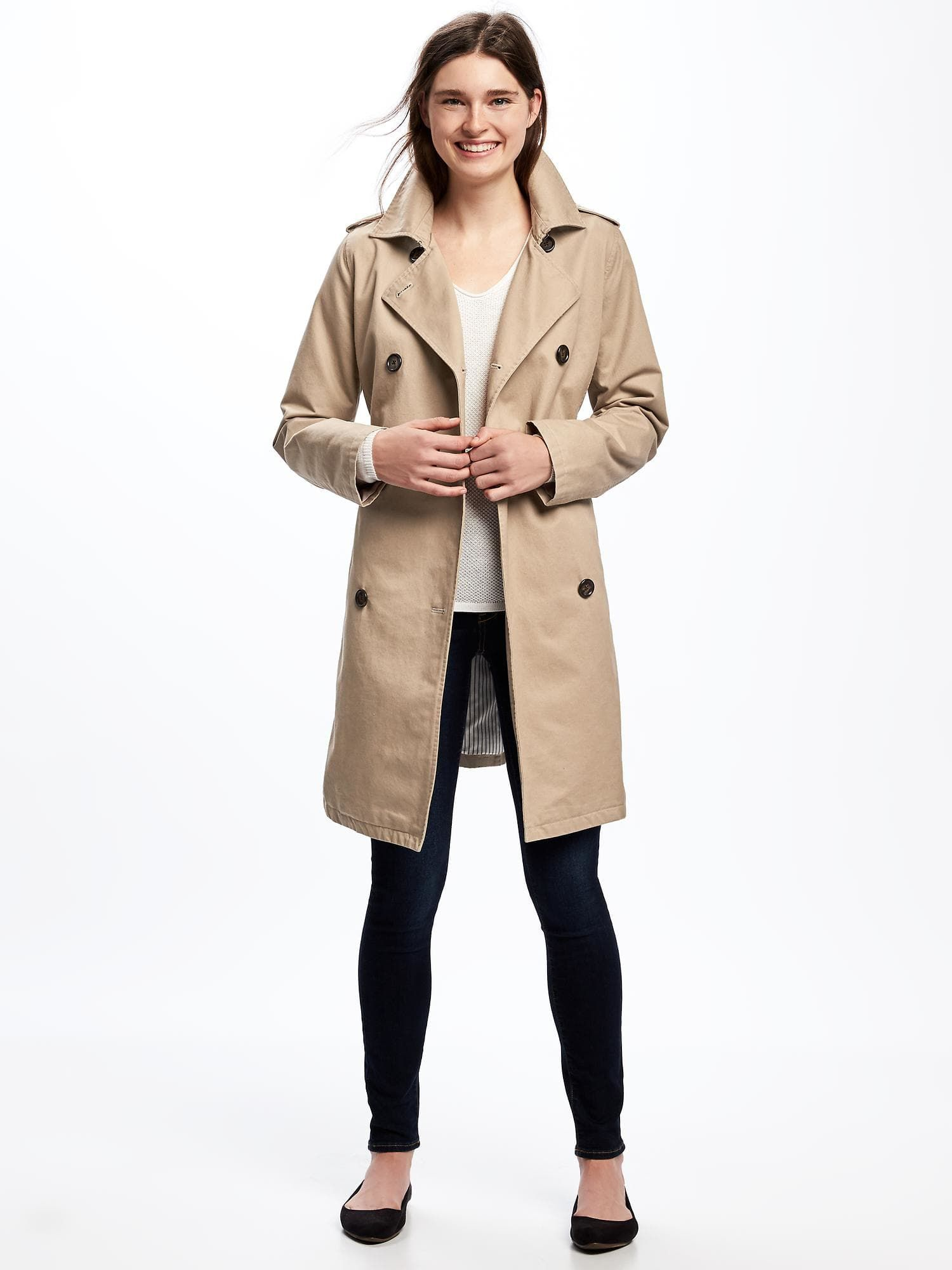 dd3ebb82333d7 Trench Coat for Women | Old Navy | Fashion - Jackets | Navy trench ...