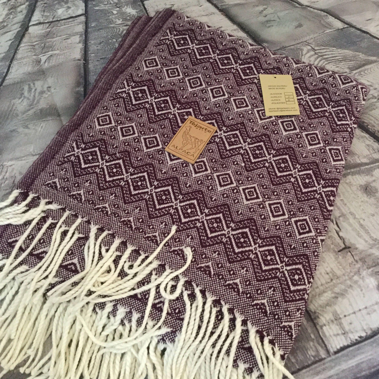 Alpaca Blanket by TejartePeru on Etsy Alpaca blanket