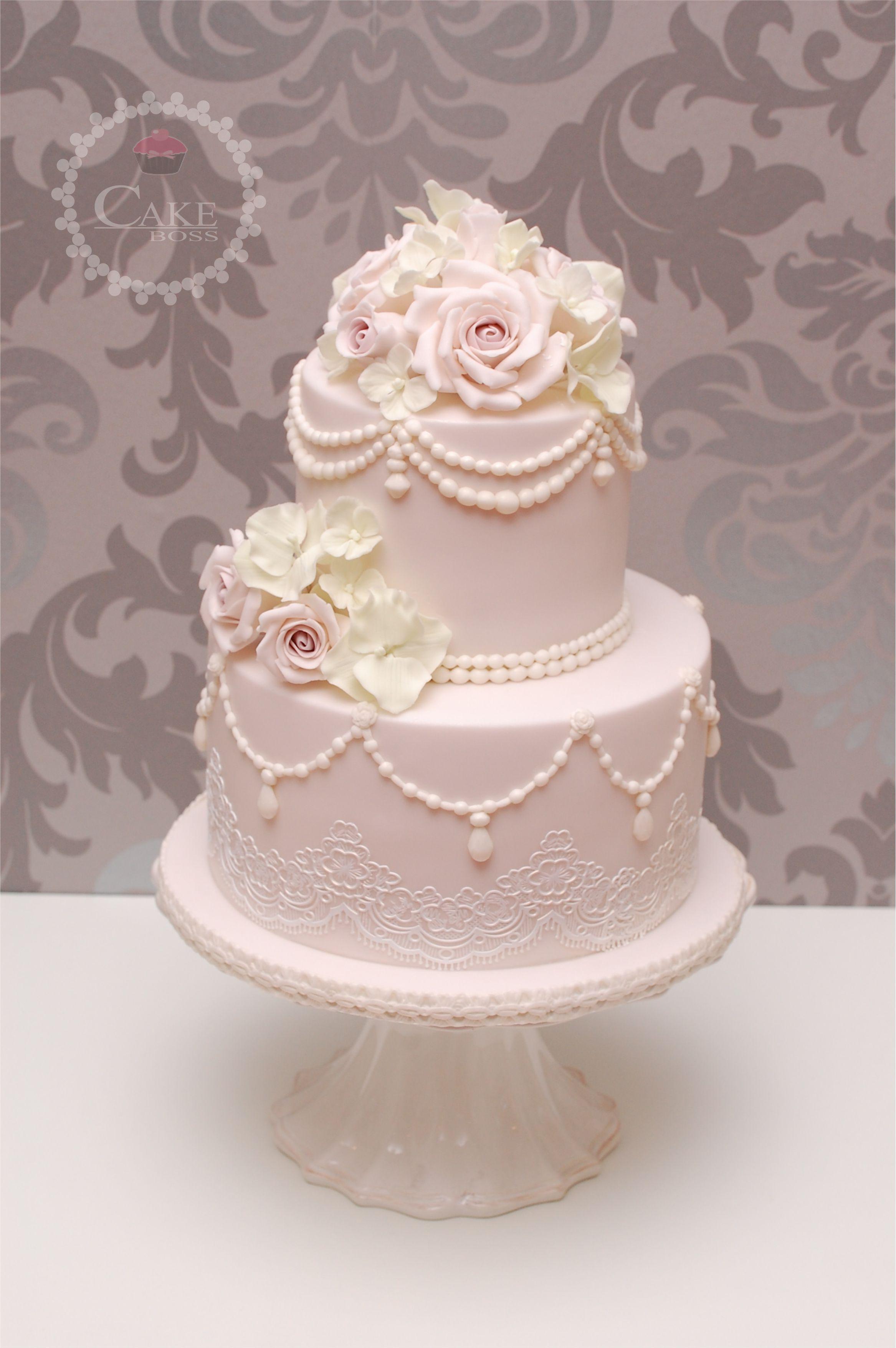 Hochzeitstorte vintage cake - Hochzeitstorte dekorieren ...