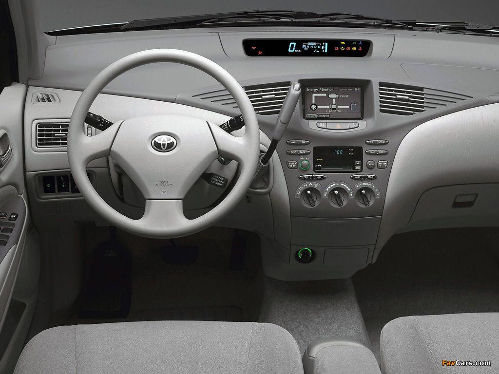 Toyota Prius Hybrid Sedan 1998 Toyota Prius Hybrid Car Interior Toyota Prius