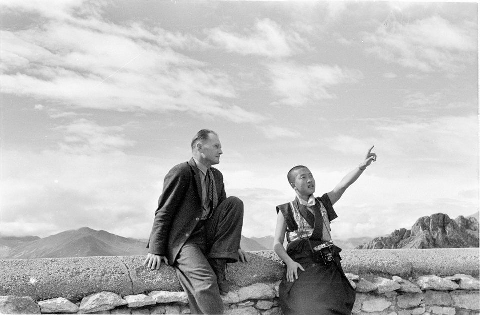 Heinrich Harrer in Tibet, 1948 | His Holiness The 14th ...