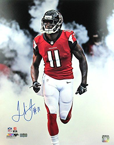 Julio Jones Autographed Signed Atlanta Falcons 16 20 Nfl Photo Tunnel Smoke Nfl Photos Nfl Julio Jones