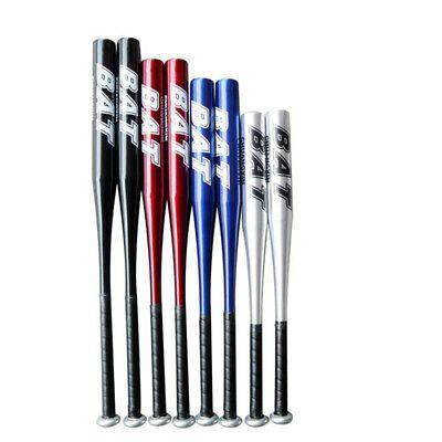 Aluminium Alloy Baseball Bat Thick Vehicle-mounted Steel Stick Ball Stick Blue