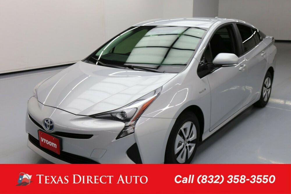 2016 Toyota Prius Two Eco 4dr Hatchback Texas Direct Auto 2016 Two