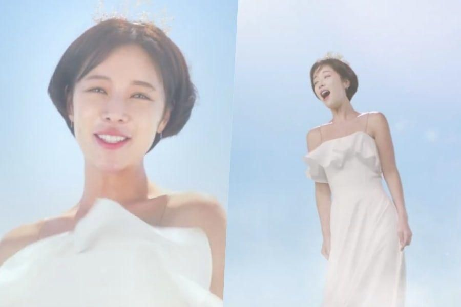 Watch: Hwang Jung Eum Flies Off To Find The Happiness Of Being Single In Teaser For Upcoming Rom-Com