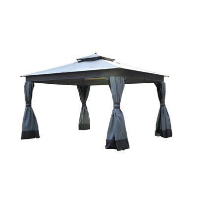 allen roth Replacement Canopy for 12-ft x 10-ft Easy-Up Gazebo  sc 1 st  Pinterest & allen roth Replacement Canopy for 12-ft x 10-ft Easy-Up Gazebo ...