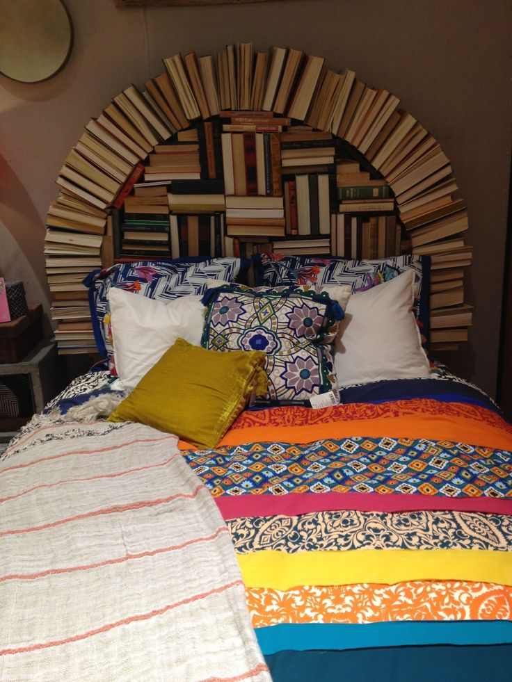 Delightful 17 Bookshelves That Double As Headboards