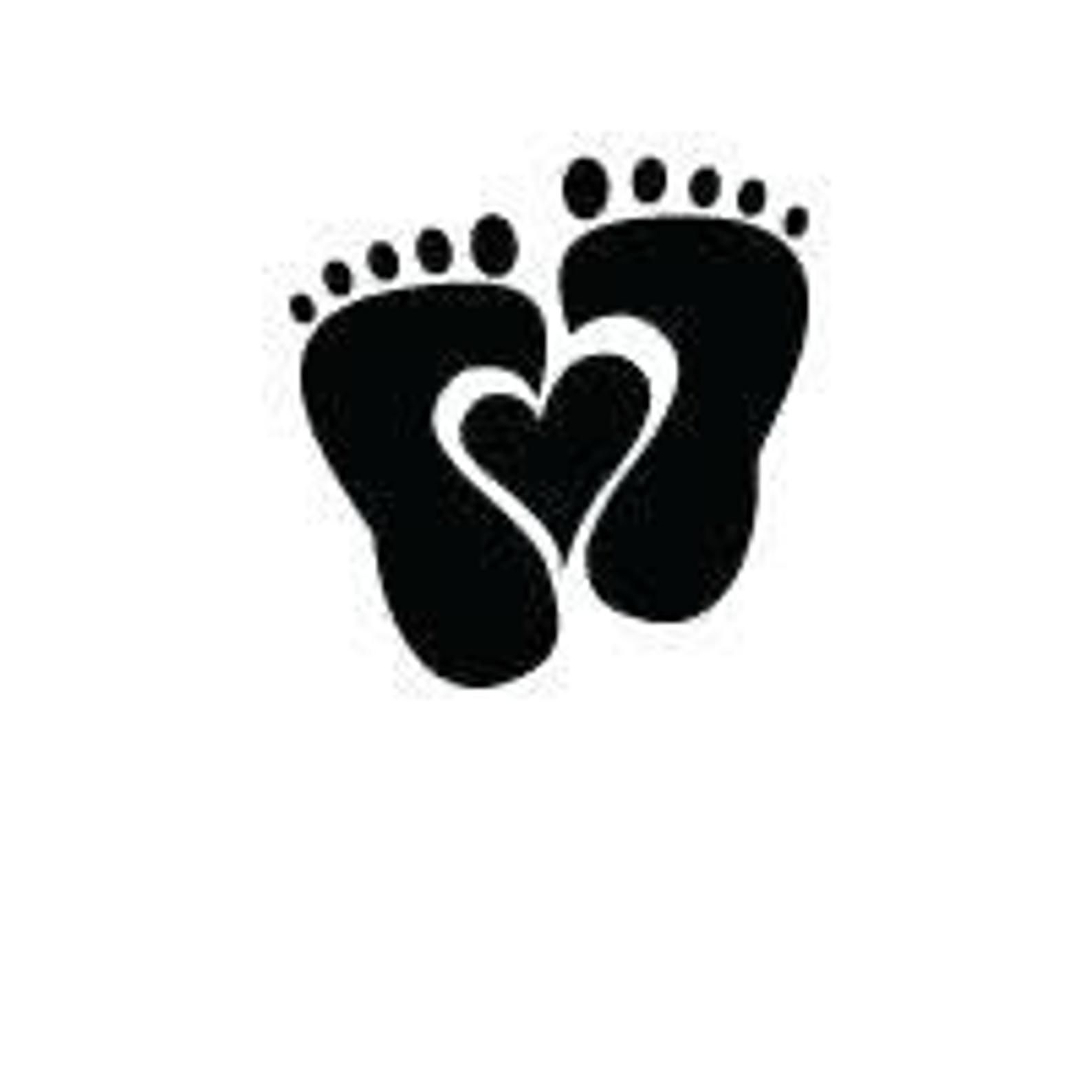 Baby Feet Heart Digital File Svg Png Jpg Cricut Etsy In 2020 Creative Baby Shower Baby Feet Baby Shower Gift Bags