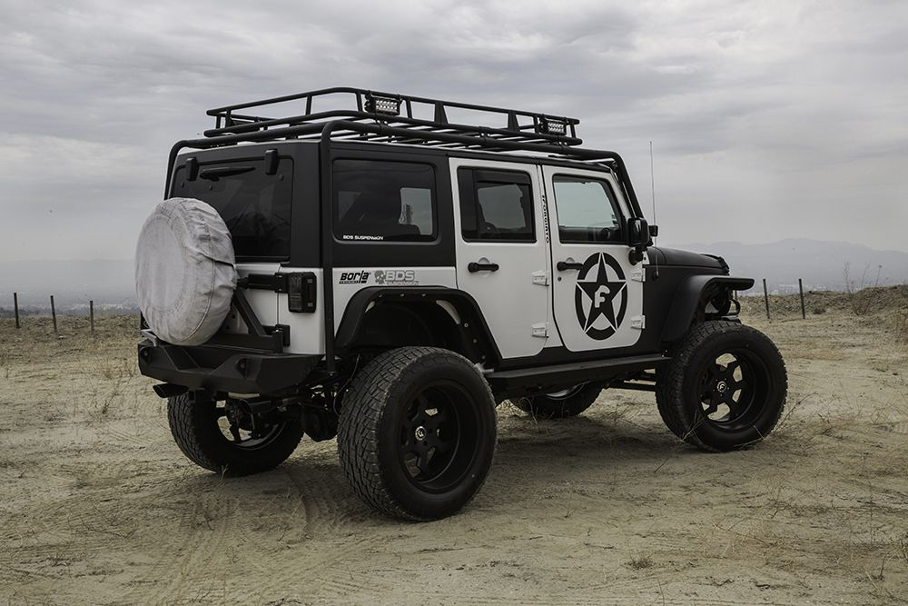 "Forging Ahead – Jeep Wrangler On 22"" Elica-T"