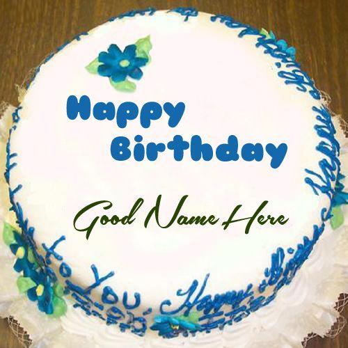 Write Your Name On Pretty Birthday Cake Online maila baterna
