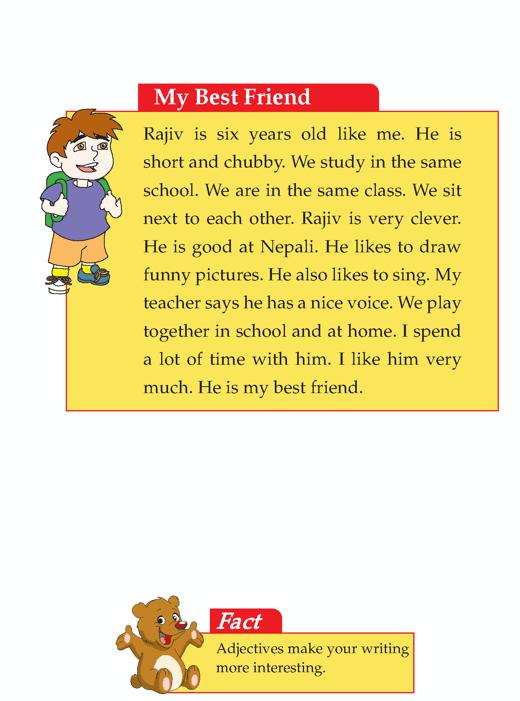 Best friend essay for kids
