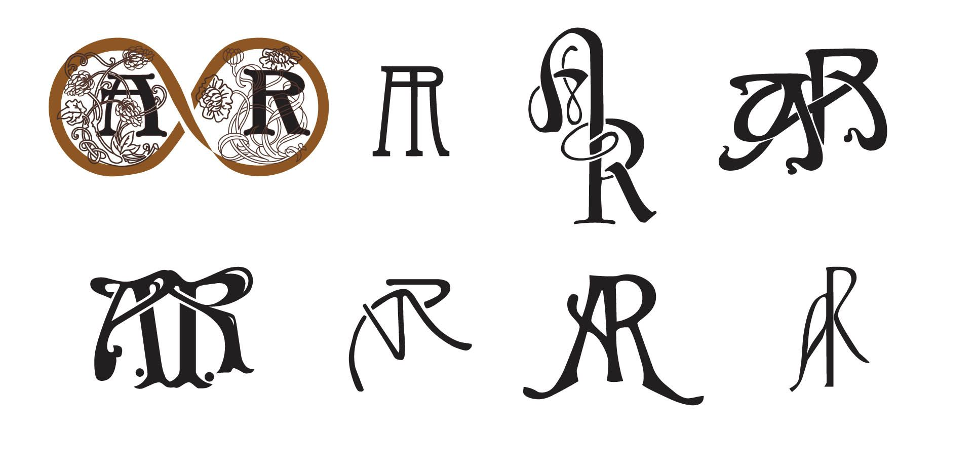 R K Monogram