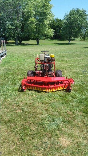 My Yazoo Mower 1954 Wisconsin Angd Mower Yazoo Lawn Mower