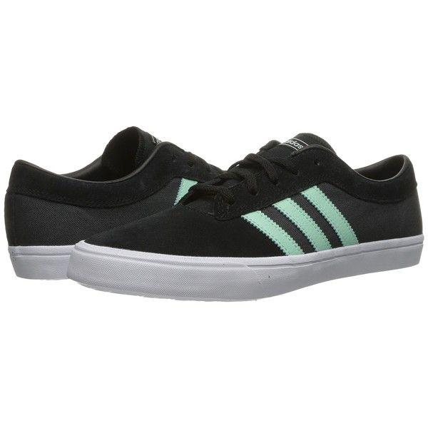 adidas con lo skateboard sellwood (nero / ghiaccio verde / grigio scuro heather