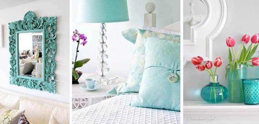Decoración en color turquesa | Color turquesa, Turquesa y Color