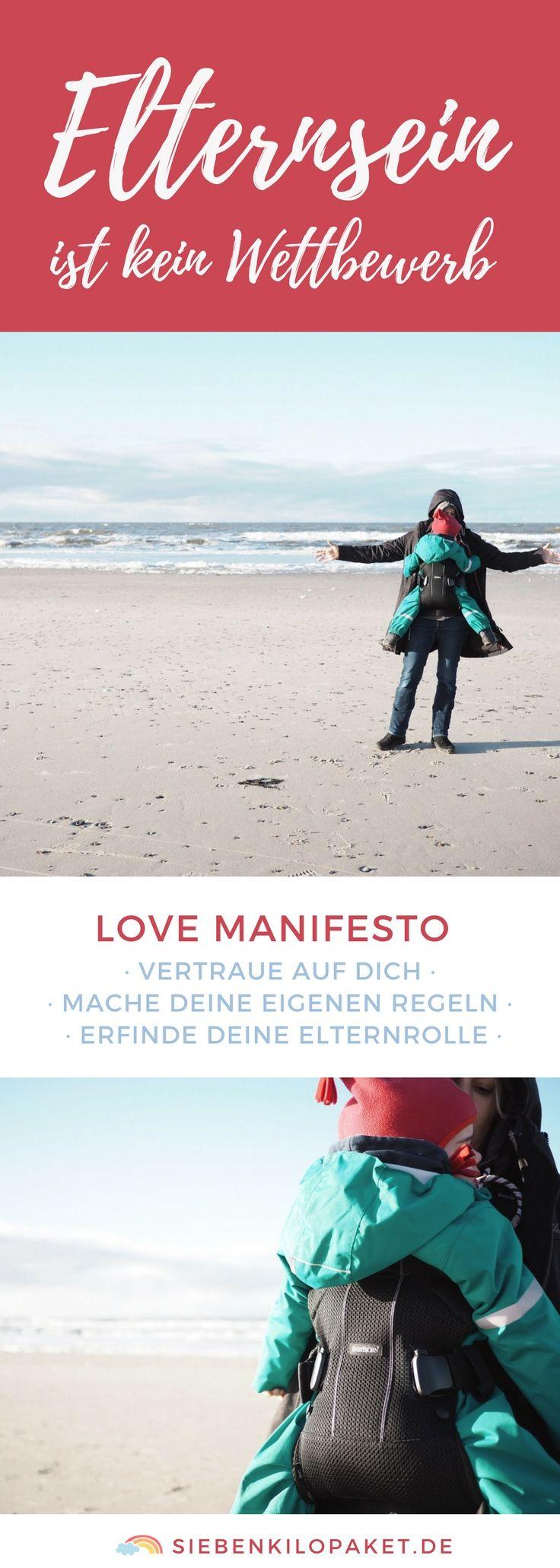 Nur du weißt, was für dein Kind am besten ist – A Love Manifesto (Werbung