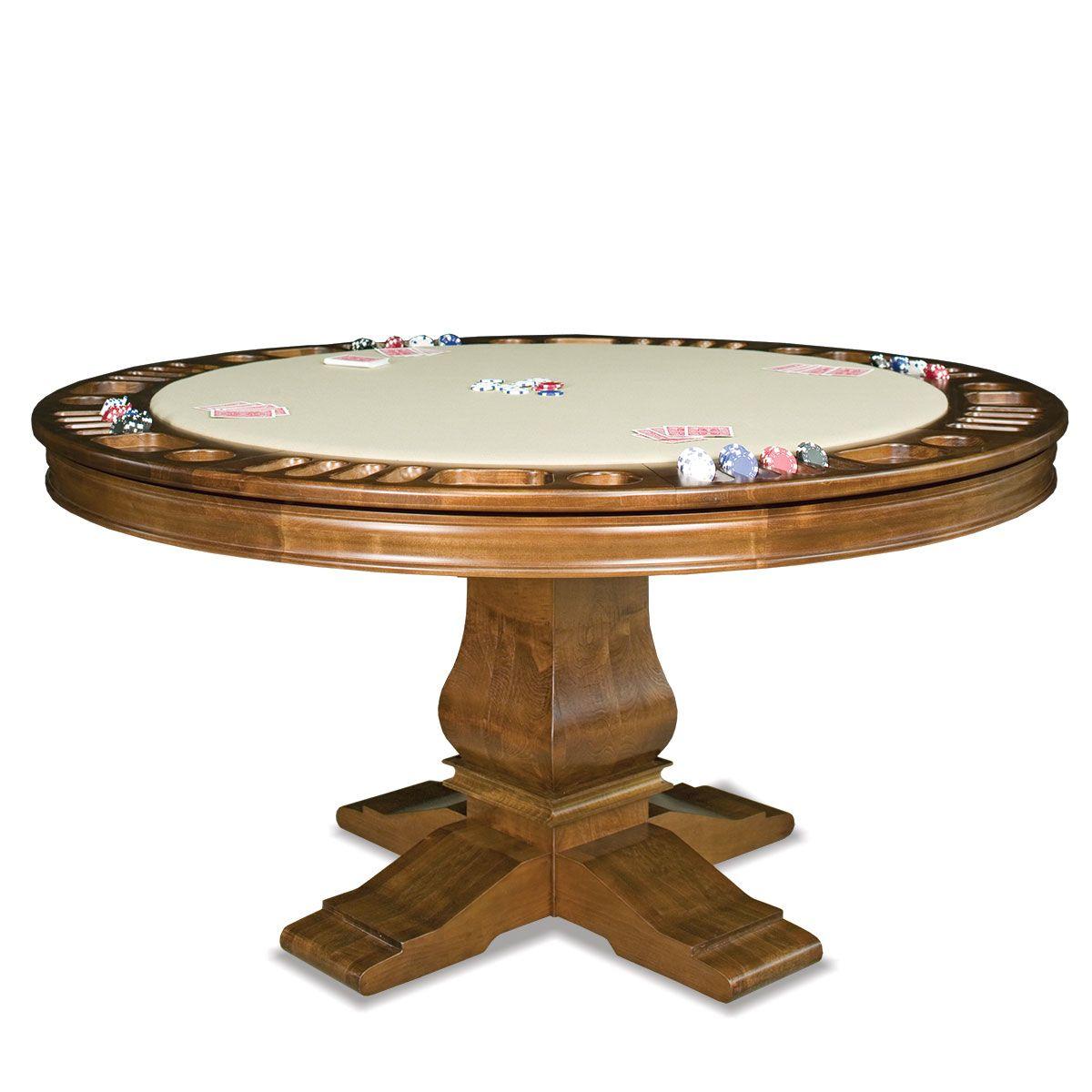Berkeley Reversible Poker Table Poker Table Table Games Round
