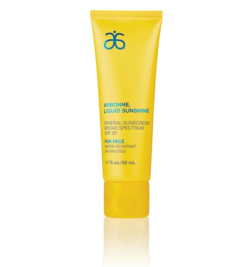 We're all about saving face, so help prevent sunburn by