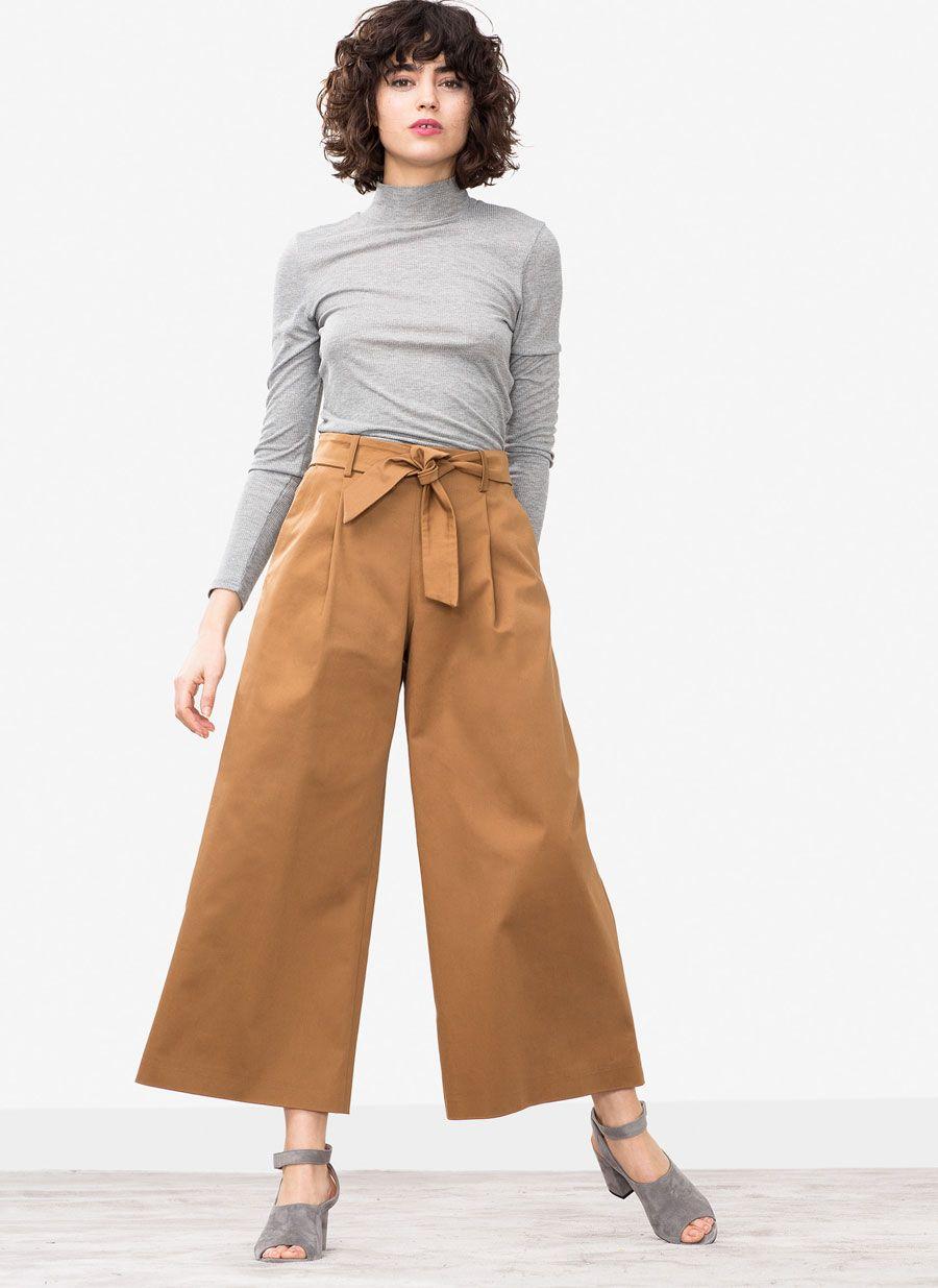 7b5c9c91f00 Culotte algodón en 2019   Oficina   Pantalones y España