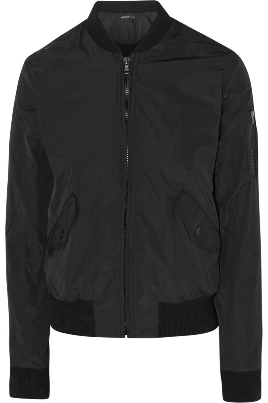 James Perse Shell Bomber Jacket