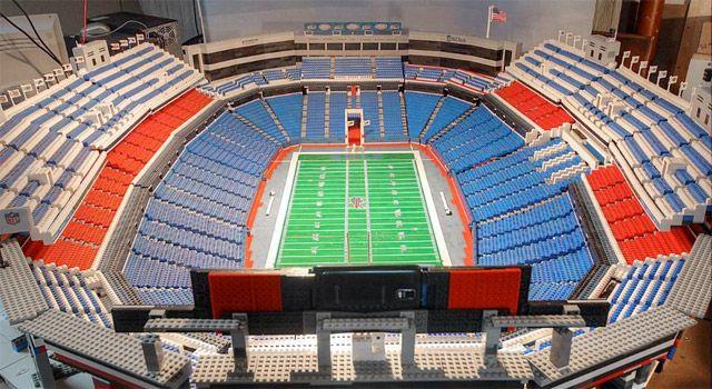 Buffalo Bills fan builds Ralph Wilson Stadium of Legos | Ralph ...