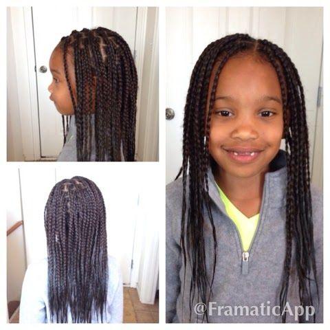 Cornrows Braids Extensions Individuals Kids Hairstyles Little Girl Braids Braids For Black Kids