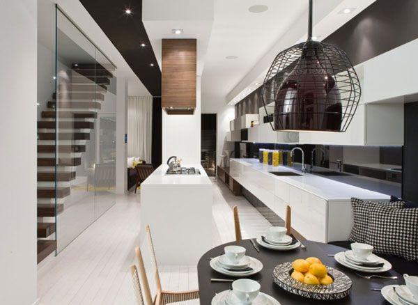 contemporary model home by cecconi simone interiors design firms