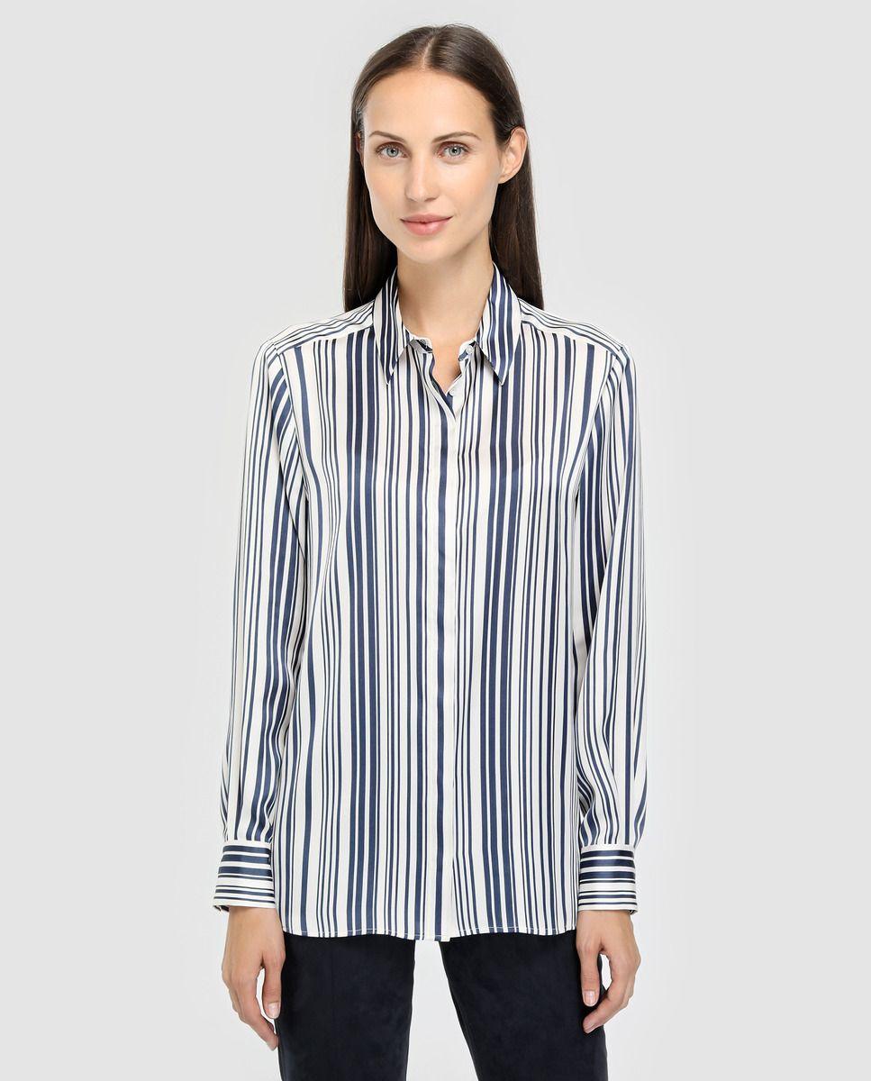 fa08e2771 Blusa de cetim de mulher Woman El Corte Inglés com estampado · Moda e  Acessórios ·