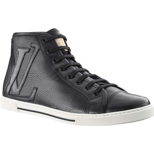 Louis Vuitton Punchy Sneaker Boot In Grained Calf Leather