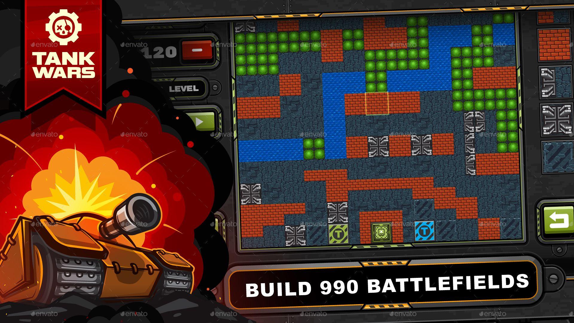 Game Assets For Tank Wars Game Bundle Game Assets War Tank