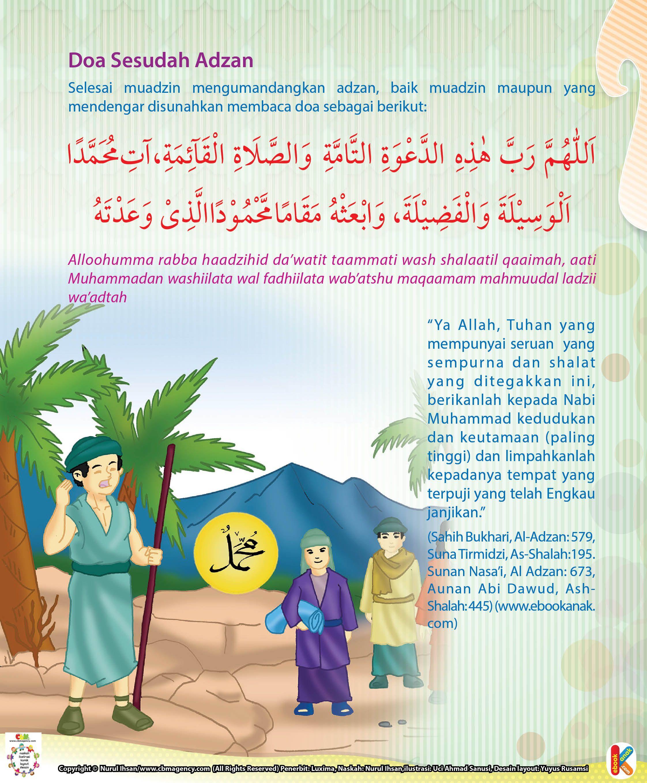 Doa Sesudah Adzan Ebook Anak Doa Pengikut