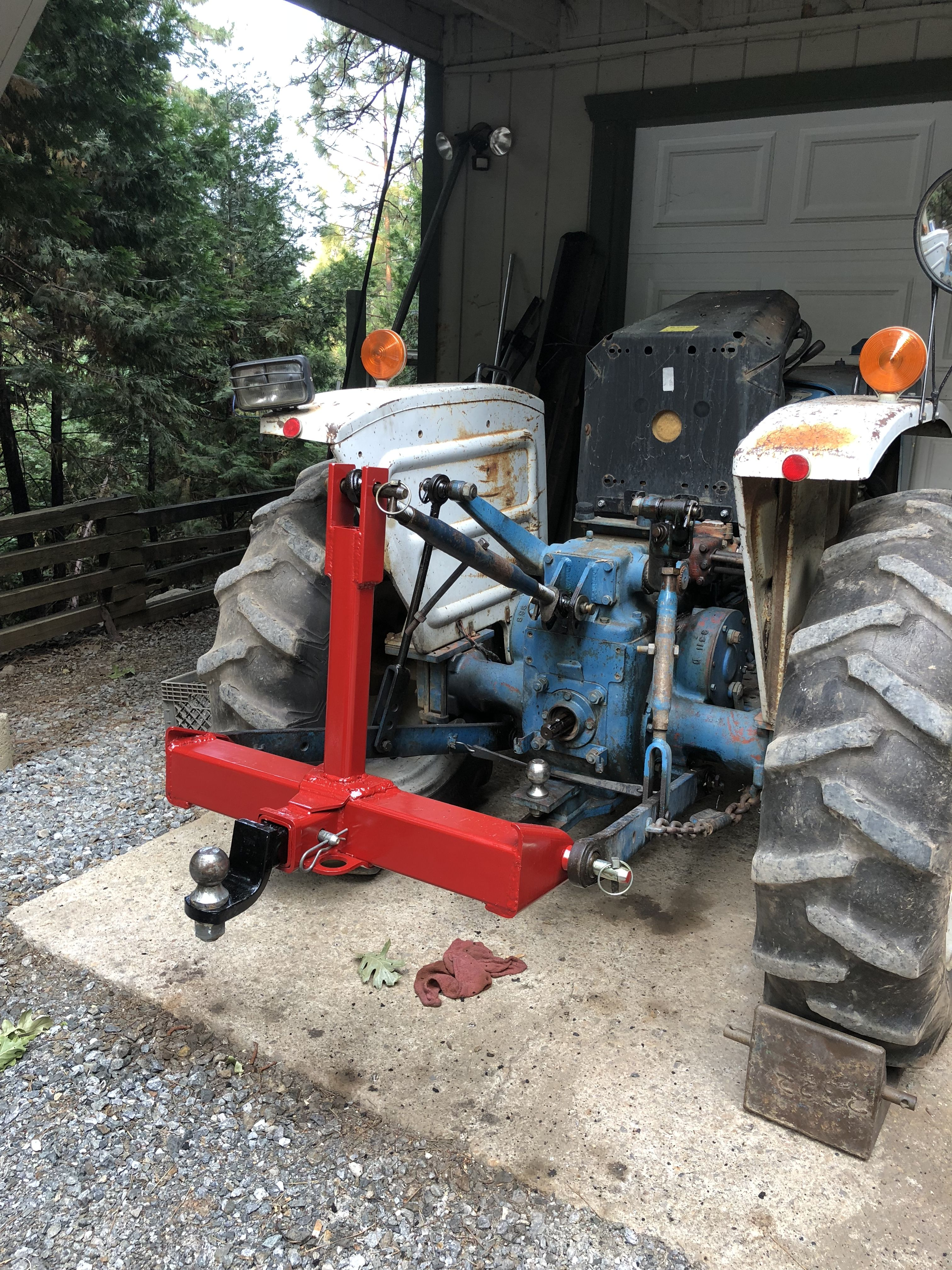 Pin By Cody Cole On 3 Point Receiver For Tractors Tractors Tractor Implements Homemade Tractor
