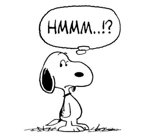 Snoopy Is Wary Of Fake News Snoopy Images Thank You Snoopy Peanuts Gang