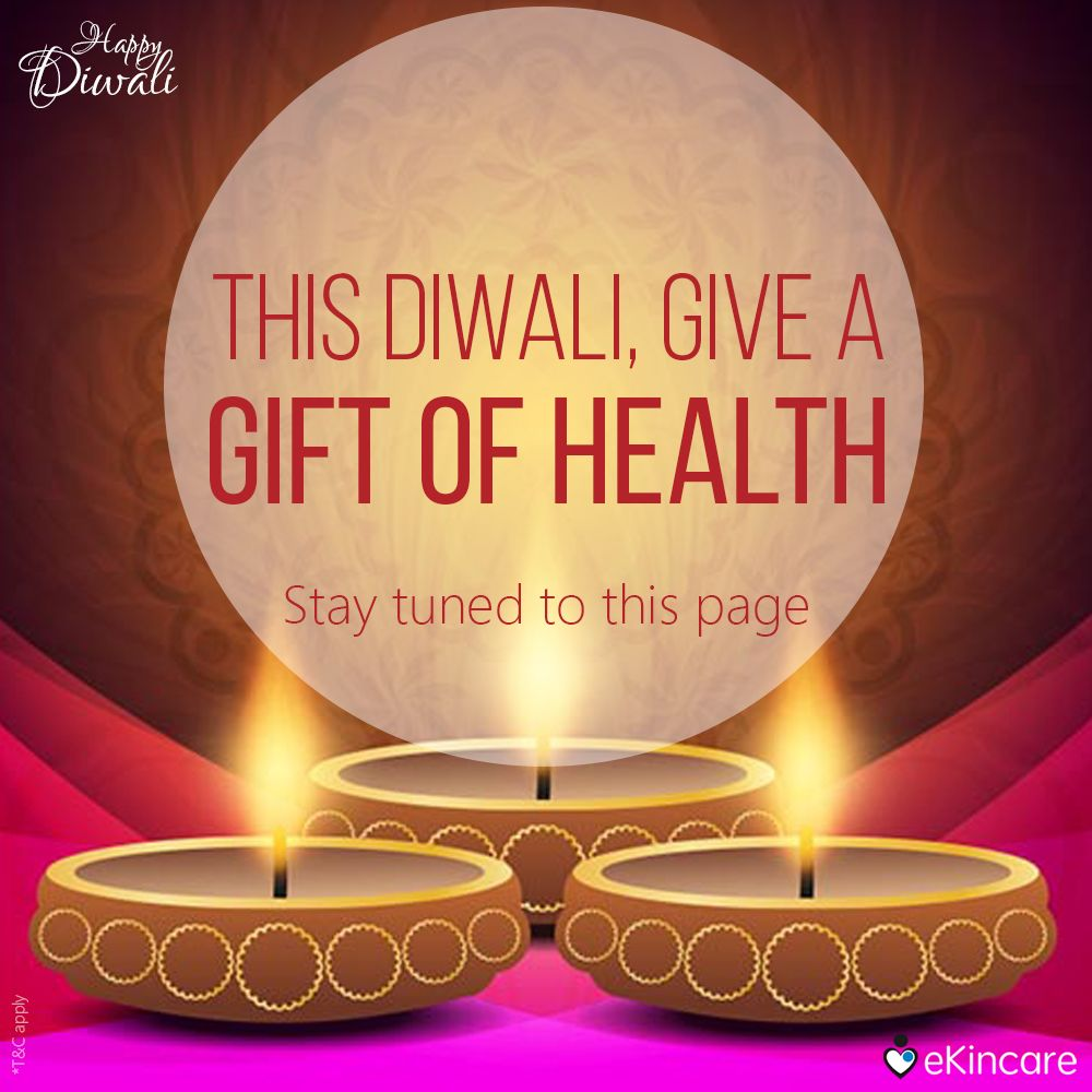 This Diwali, give your loved ones the gift of health