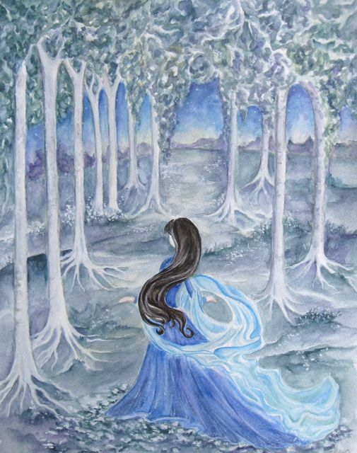 Darkling Woods Studio: Water Color Tutorial | Original ...