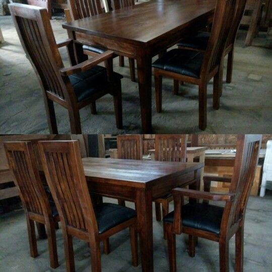 Daniela Oil Base Dining Set #diningset #diningroom #furniture Amusing Custom Made Dining Room Tables Decorating Design