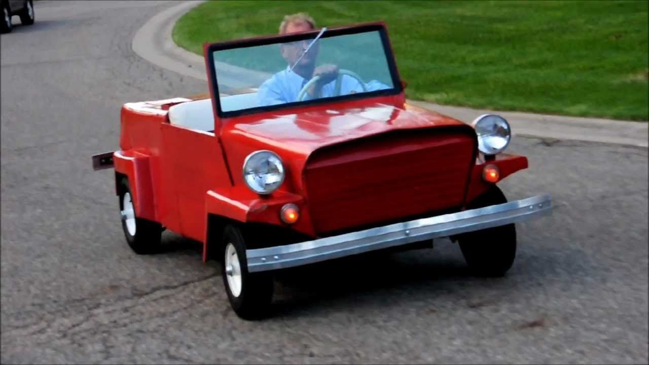 1960 King Midget Model III For Sale on ebay - YouTube | pin board ...