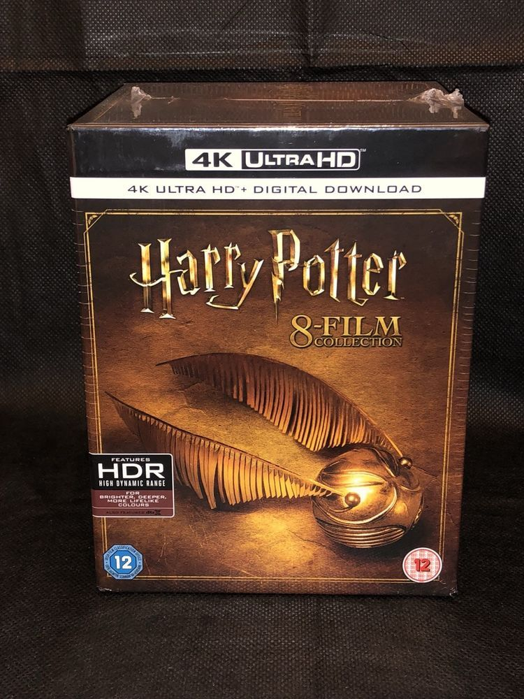 HARRY POTTER 8 FILM COLLECTION 4K UHD HDR [DTS HD/DTS X