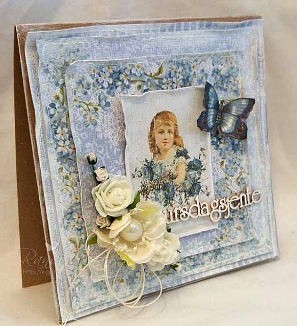 RANDI'S LILLE BLOGG: Utfordring #1 - Scrap and Craft