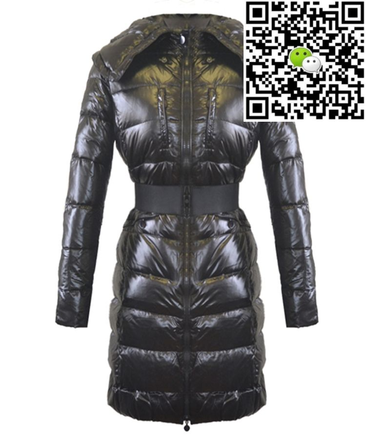 Moncler Passy Women Coat Winter Long Black